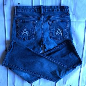 7 Seven for all mankind Jeans A Pocket 27 EUC